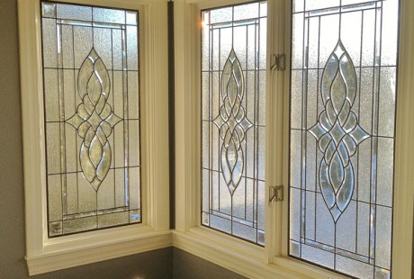 Stained glass for austin homes in any style shape or for Stained glass bathroom window designs