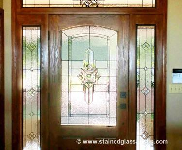 Entryway Stained Gl Door Sidelights 11 Large