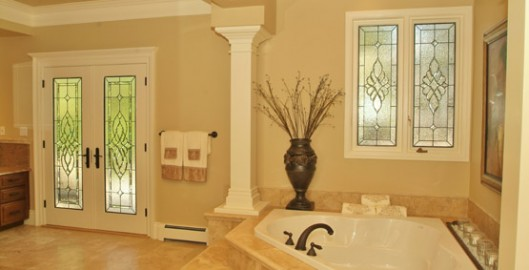 Bathroom Stained Glass Windows & Doors