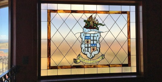 family crest stained glass austin