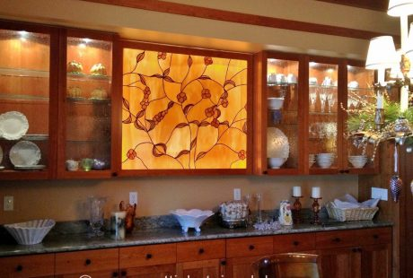 kitchen stained glass austin