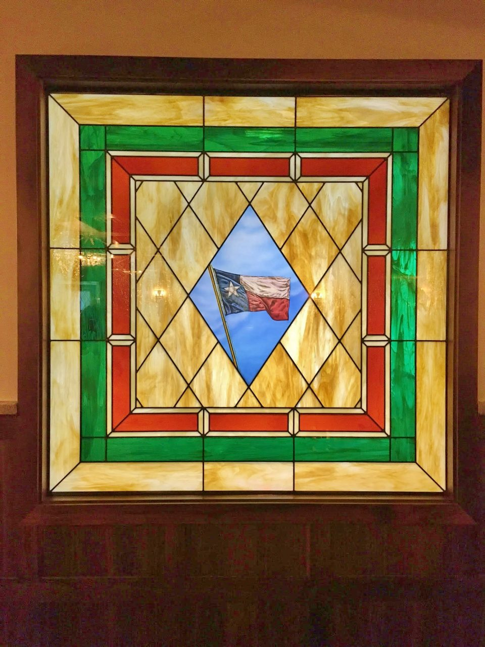 university of texas stained glass
