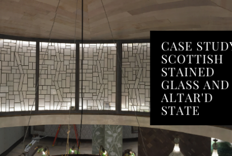retail stained glass altard state