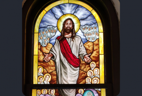 stained glass restoration tulsa ame church