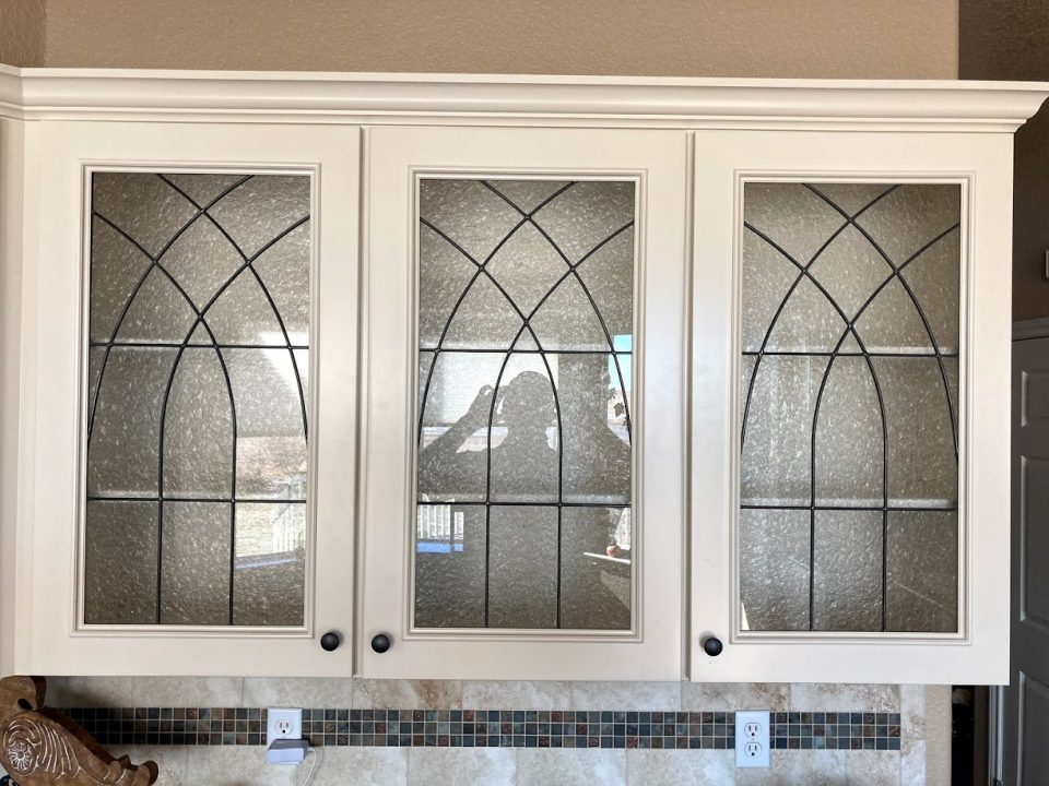 cabinet stained glass austin